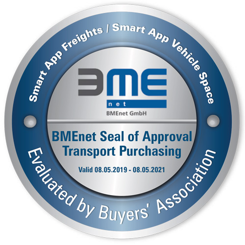 Seal of approval: BMEnet awards TIMOCOM's freight exchange with the quality seal