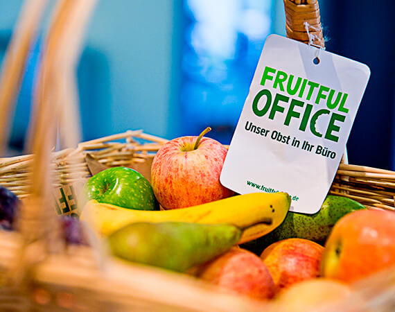 Fresh fruit every week for employees