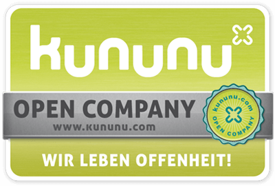 kununu - OPEN Company - Employer seal of approval