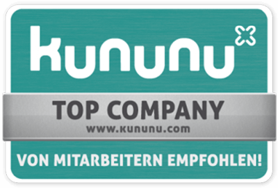 kununu - TOP Company - Employer seal of approval