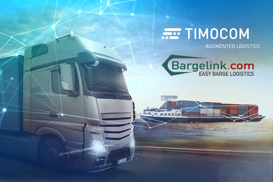 Cooperation between TIMOCOM and Bargelink